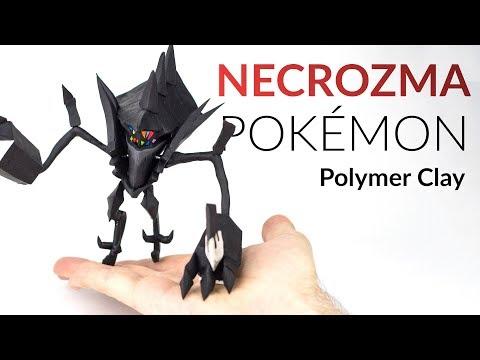 Necrozma (Pokemon) – Polymer Clay Tutorial