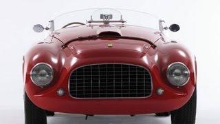 1950 Ferrari 166 MM Barchetta in the style of Touring