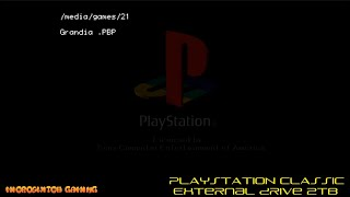 Playstation Classic with 2TB Drive and 700+ Games