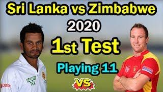 1st Test, Sri Lanka tour of Zimbabwe at Harare