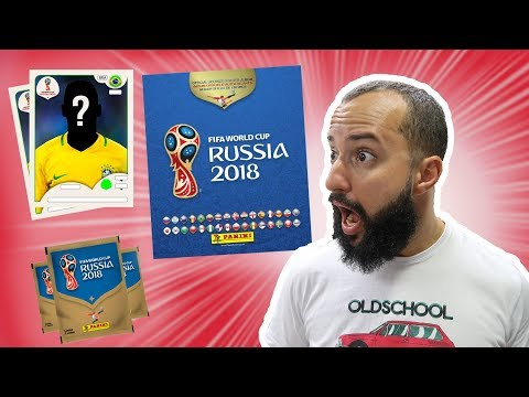 Ganhamos o ÁLBUM DA COPA E R$160 EM FIGURINHAS | Unboxing
