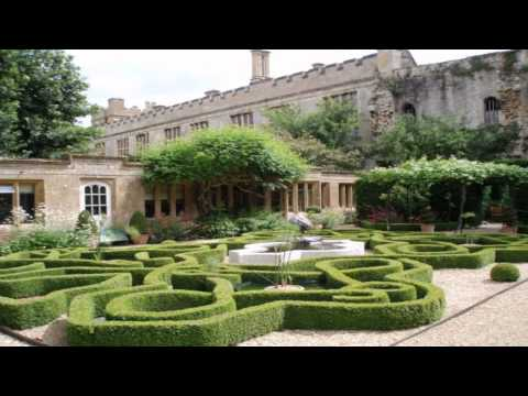 Sudeley castle gardens Broadway Worcestershire