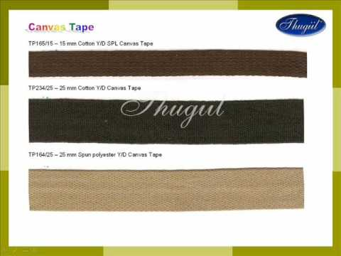 Narrow Tapes, Twill Tapes, Cotton Tapes, Yarn Dyed Tapes, Belt Tapes