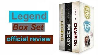 Legend Trilogy Boxed Set Review