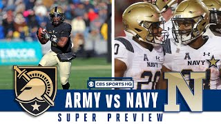 SUPER PREVIEW: Army vs Navy | CBS Sports HQ