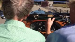 Lagonda 2 Litre at 80-90 MPH on Motorway.