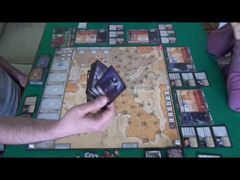 Ярость Дракулы 1/3 часть- играем в настольную игру
