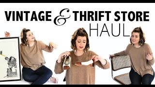 Vintage & Thrift Store Haul | #THRIFTSCORE