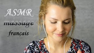 ASMR MASSAGE ❤ FRANÇAIS ❤ Role play ❤ Chuchotements ❤ asmr ear to ear