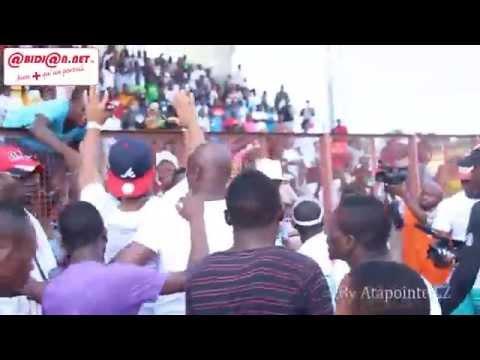 Match de Gala de la NFA: Didier Drogba super star du Stade Champroux