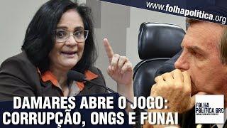 Ministra Damares abre o jogo sobre corrupção, ONGs e contratos milionários - Governo Bolsonaro