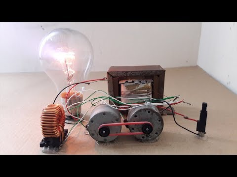 Free Energy 100 W Bulbs - How to Make 230V Energy thumbnail
