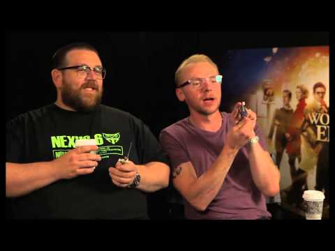 Nick Frost & Simon Pegg Talk The World's End and Star Wars Figures