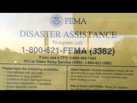 Why is FEMA Posting Disaster Signs in Missouri?