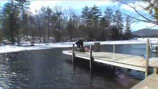 Ice SCUBA Dive ~ Snowmobile Recovery