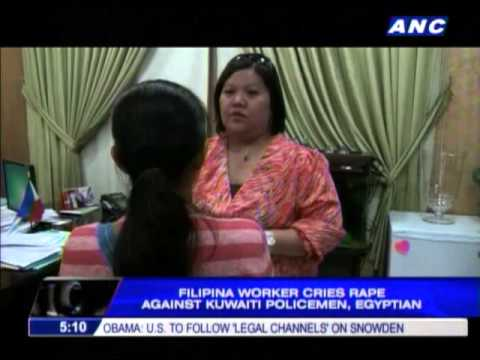 2 Kuwaiti Cops, Egyptian Accused Of Raping Pinay video