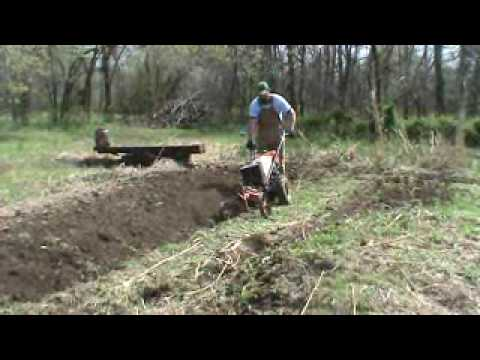 gravely rotary plow