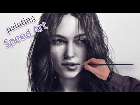 Keira Knightley Speed Painting/Drawing