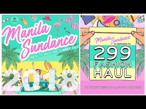 Manila Sundance Bazaar (Pre-Summer SALE) 2018!