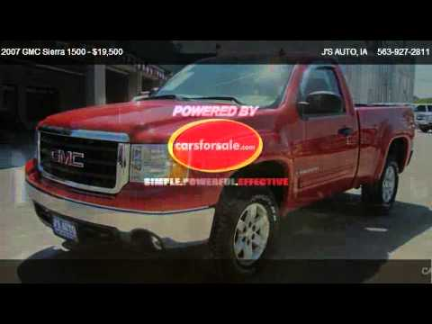 2007 GMC Sierra 1500 SLE Z71 REG CAB - for sale in MANCHESTER, IA 52057