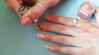 Simple and Beautiful nail art *nail art