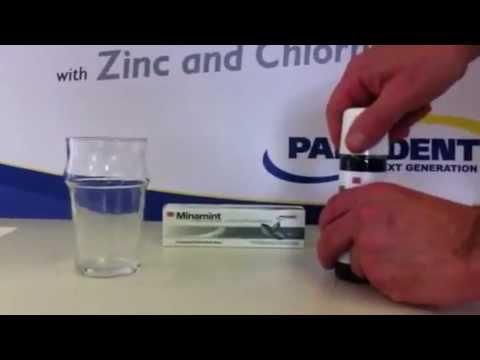 Minamint Zinc and Chlorhexidine