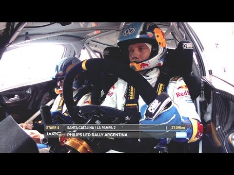Sebastien Ogier/ Full Onboard SS04 - WRC Philips LED Rally Argentina 2013