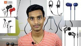 Best Earphone from 500 to 1000Rs 🎧 | Jbl c100si vs Sennhesier cx 180 vs Sony mdr150ap