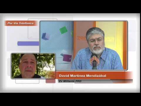 Renuncia David Martínez al PRD de Guanajuato
