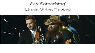 """Download Lagu """"Say Something"""" Justin Timberlake and Chris Stapleton Music Video Review Gratis STAFABAND"""