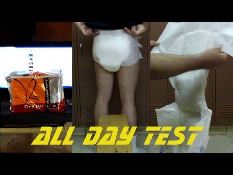 dry 24/7s adult diaper all day test