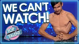 *O.M.G! WE CAN'T WATCH!* Weird Auditions From Around The World! | Top Talent