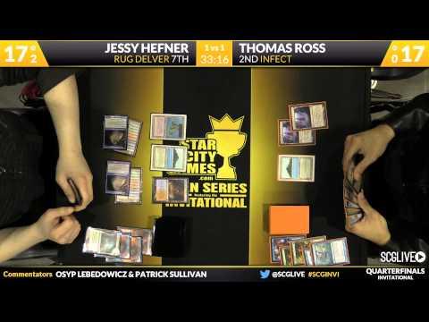 SCGINVI - Invitational - Quarterfinals - Tom Ross vs Jessy Hefner