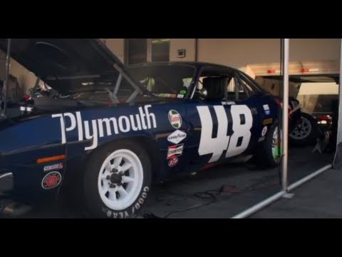 Pebble Beach 2012:  1970 Plymouth Barracuda AAR Trans-Am Race Car - Jay Leno's Garage