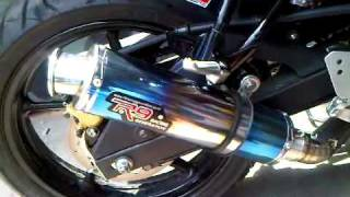 fz16 / byson r9 racing exhaust