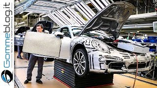 CAR FACTORY: Porsche 911 HOW IT'S MADE Production Plant Manufactory