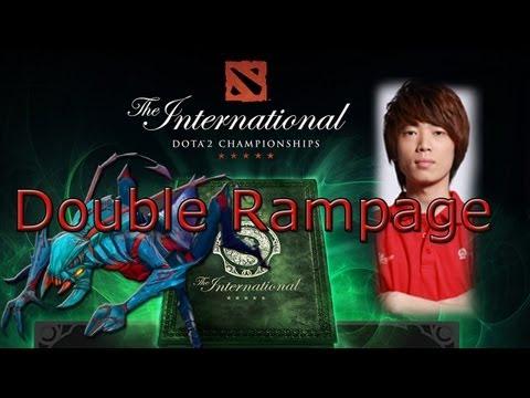 Double Rampage by TongFu.Mu @ TI3
