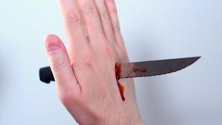 KNIFE THROUGH HAND!