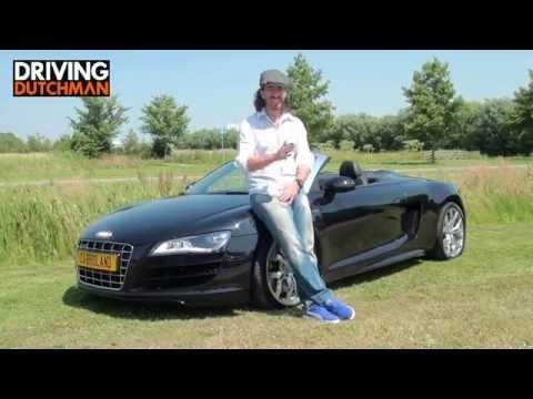 Autotest Audi R8 V10 Spyder DrivingDutchman