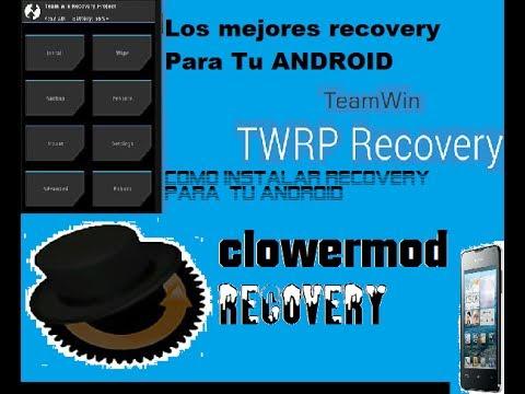Instalar recovery CWM o el TWRP[ULTIMA version]en todo ANDROID 2014