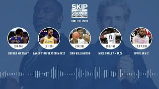 UNDISPUTED Audio Podcast (6.20.19) with Skip Bayless, Shannon Sharpe & Jenny Taft | UNDISPUTED
