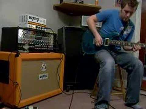 Lee Playing Guitar 4 Tiny Terror