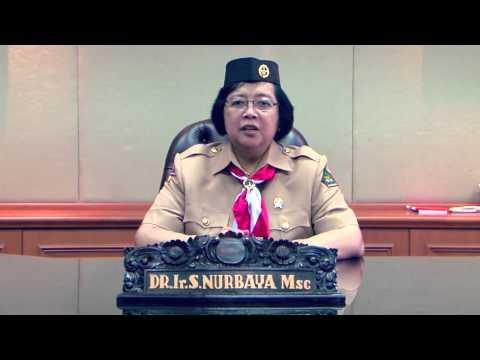 Pesan Menteri LHK Siti Nurbaya Untuk Pertiwana Tahun 2014