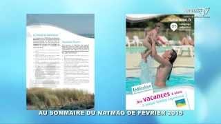 Natmag 36 - Février 2015 - La bande-annonce sur Naturisme-tv.com
