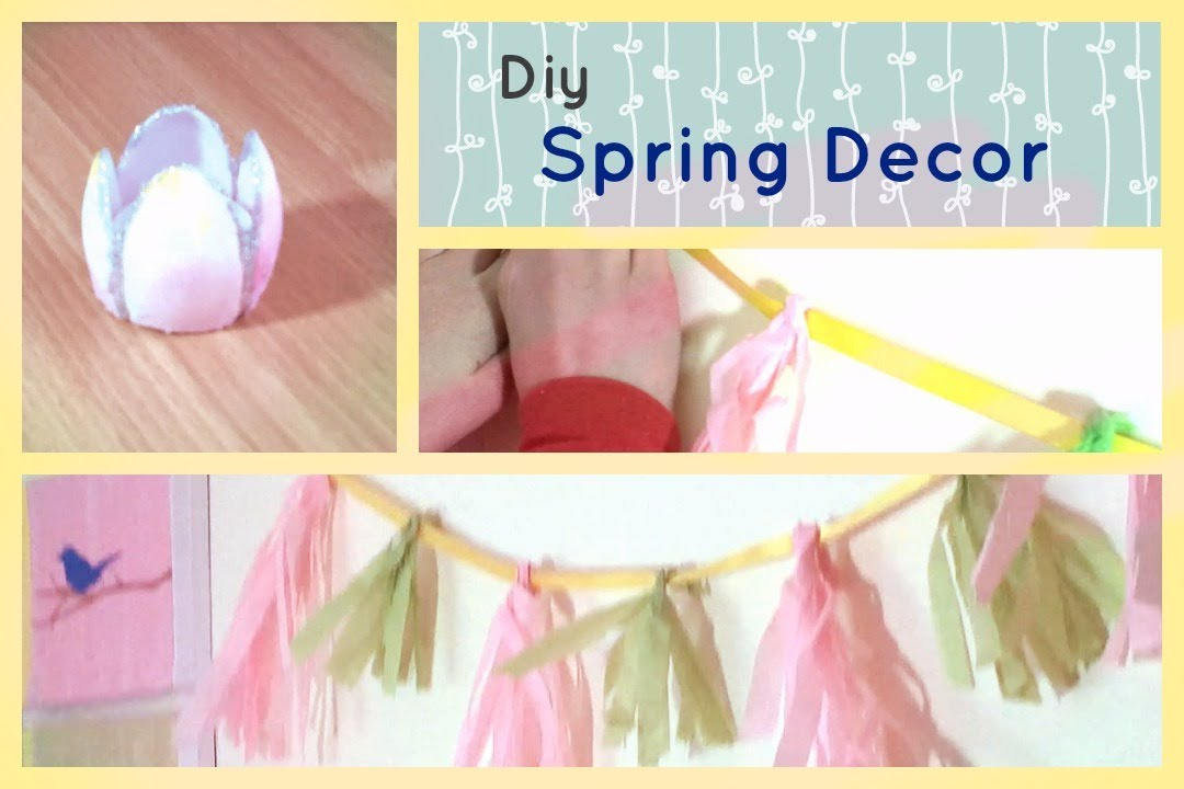 Diy Spring Decor Cute Spring Projects Youtube