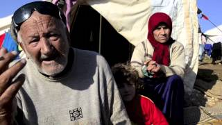 Syrian voice (in Arabic) in Atmeh refugee camp (2013)