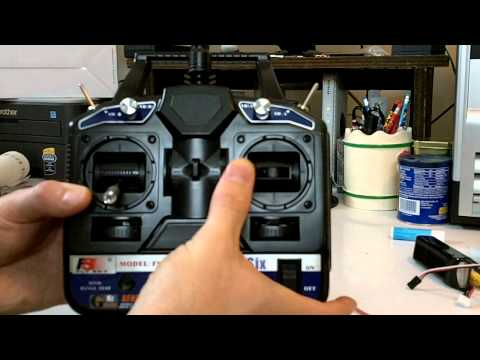 FlySky Fly Sky CT6B 2.4GHz 6ch RC TX/RX Transmitter & Receiver Review