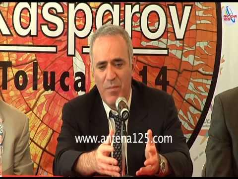 Garry Kasparov se presenta en toluca