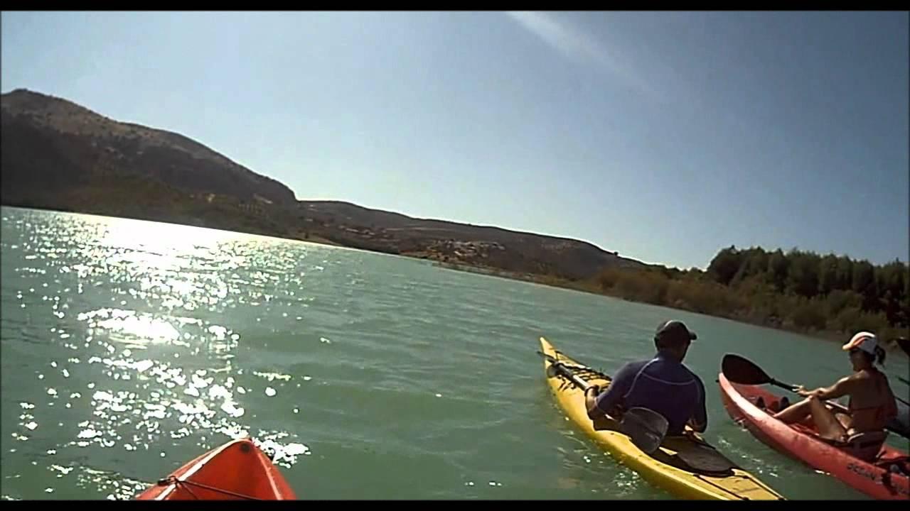 embalse el atazar kayak fishing