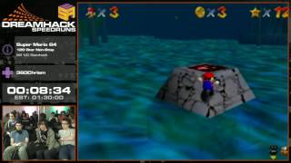 #DHS16 - Super Mario 64 [ 120 Star Non-Stop Romhack ] by 360Chrism
